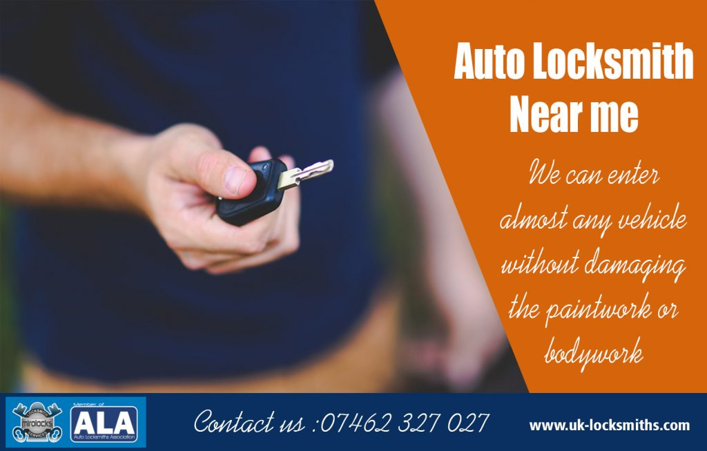 Auto Locksmith Near Me
