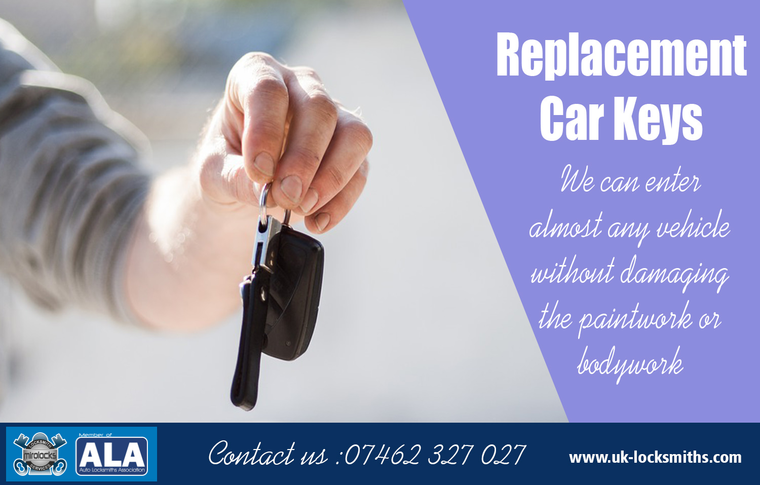Broken Car Keys Replacement South London