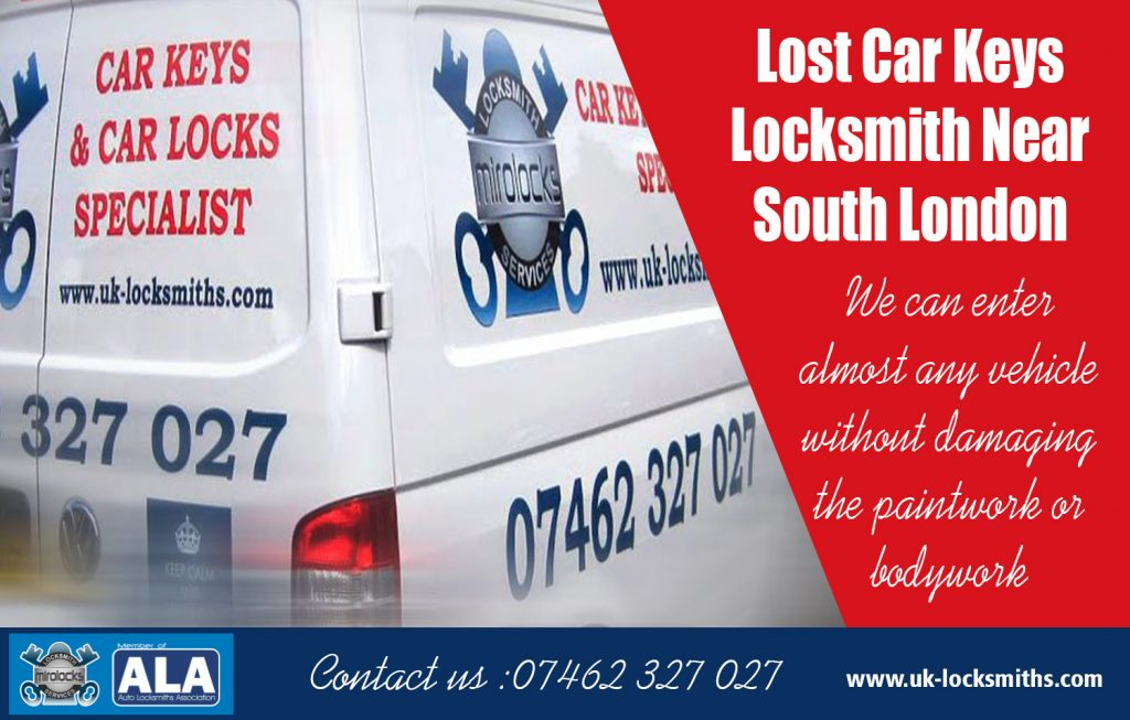 Lost Car Keys Locksmith Near South London